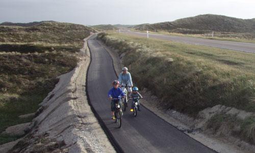 Indvielse af ny 30 kilometer lang cykelsti fra Hanstholm til